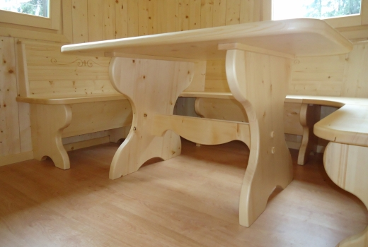 panca tavolo abete